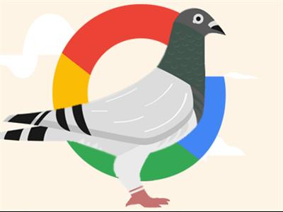 الگوریتم کبوتر گوگل اختراع جدید گوگل