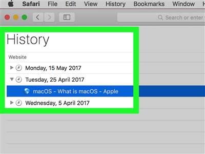 تاریخچه جستجو یا web history چیست؟