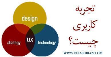 تجربه کاربری - UX - چیست؟
